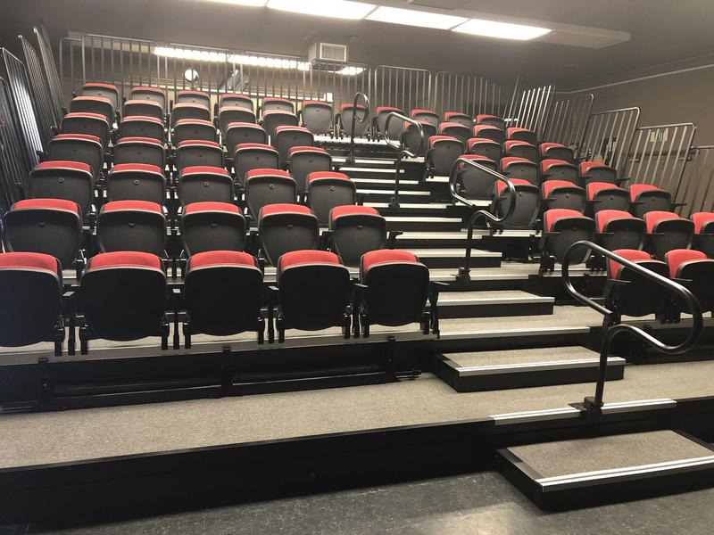 Theater Seating Project Completed Thumbnail Image