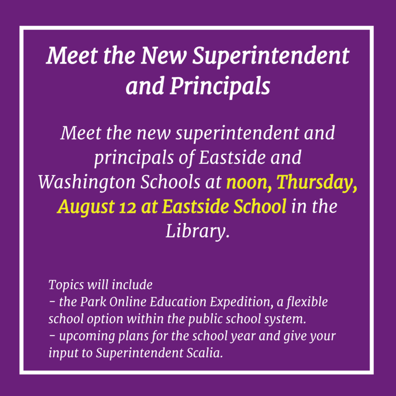 Meeting the Superintendent Flyer