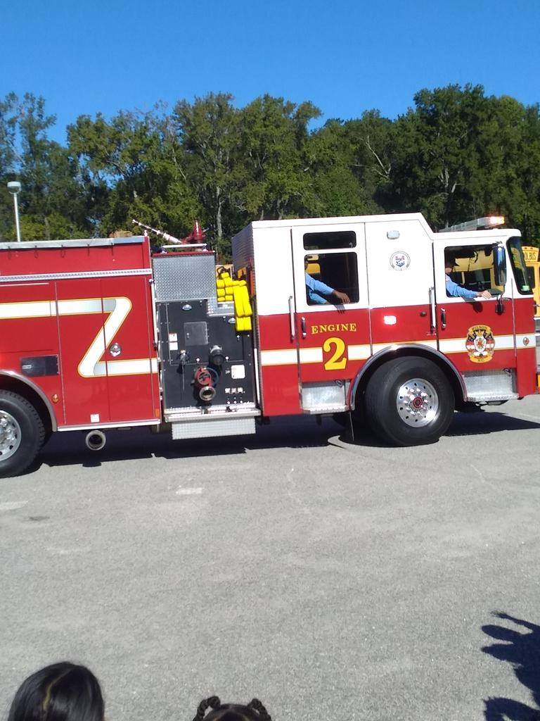 Photo of Station 2's fire truck.