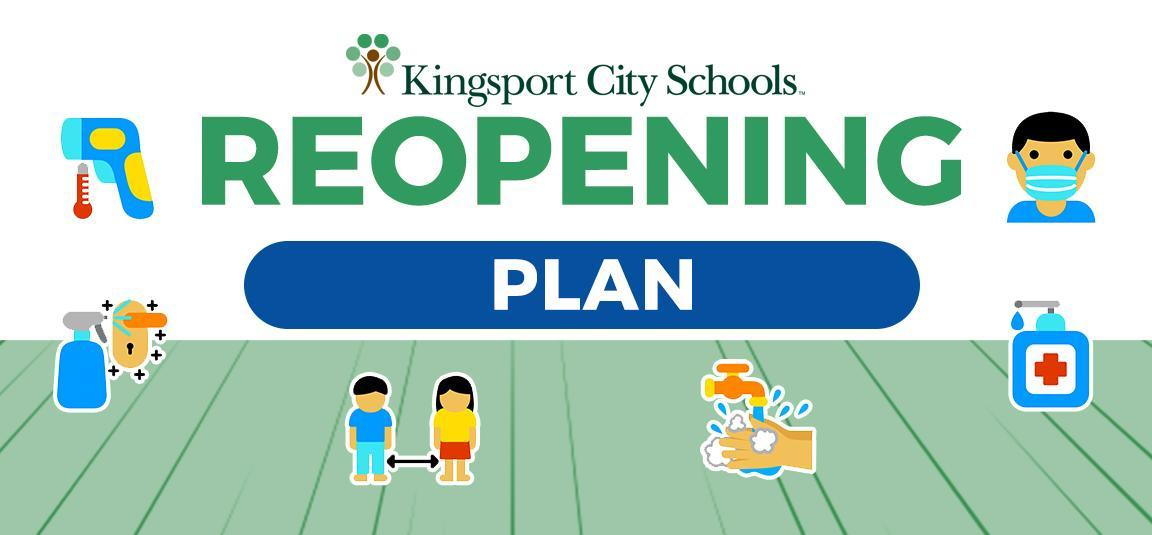 Reopening Plan webpage graphic