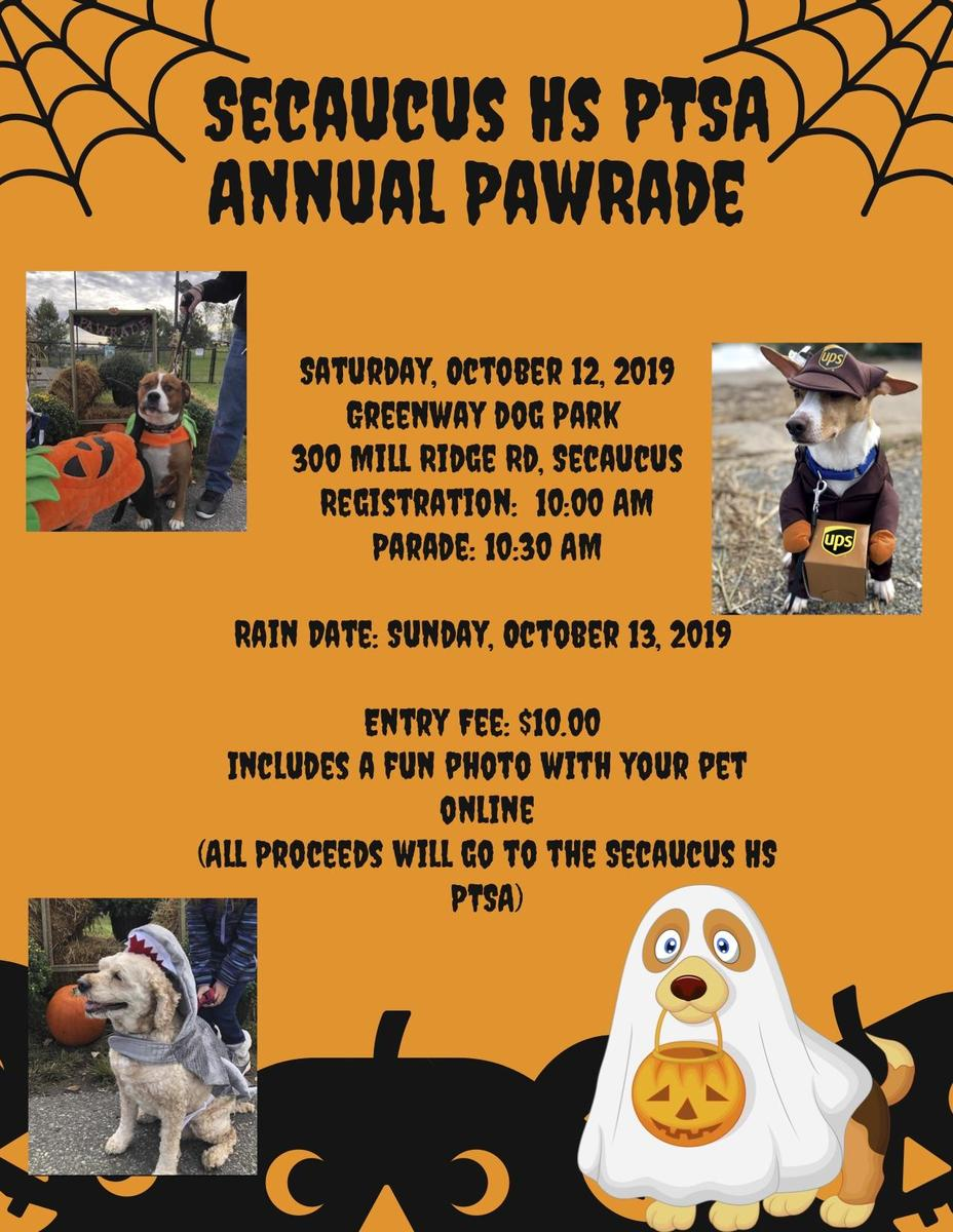 Annual Pawrade Flyer