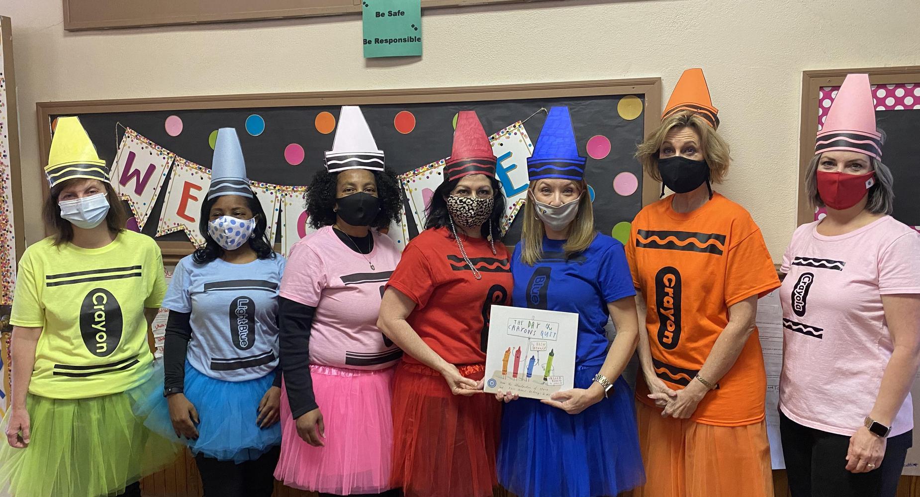 BCD Crayons