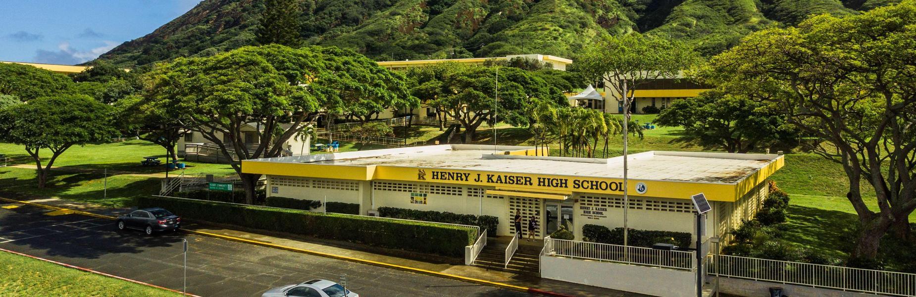 Kaiser High School campus