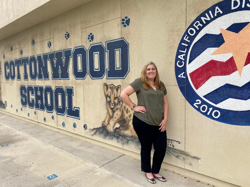 Photo of Stephanie at Cottonwood