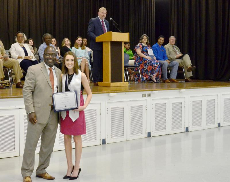 Abigail Stephens is the Class of 2019 Valedictorian.