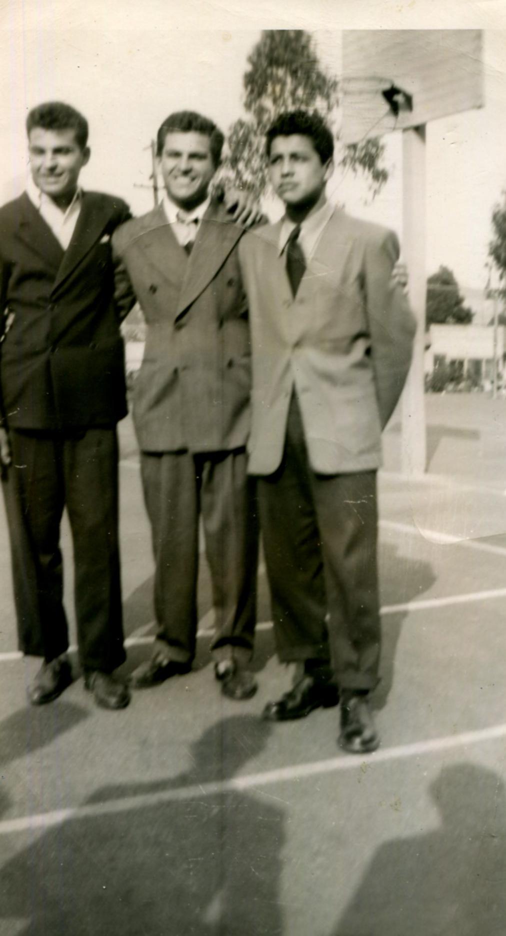 Camera Day, Belvedere Junior High, Class of Winter 1947