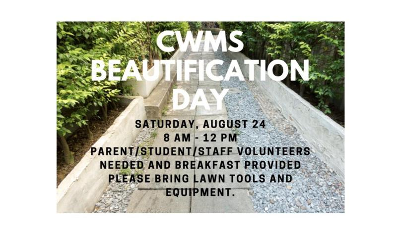 CWMS Campus Beautification Day Thumbnail Image
