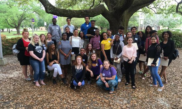 Foreign Language students win at the Tri-Parish Foreign Language festival at LSU-E