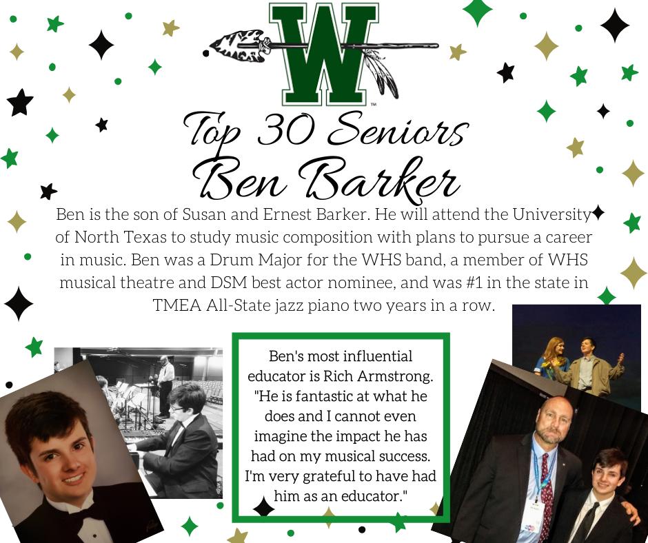 graphic of ben barker