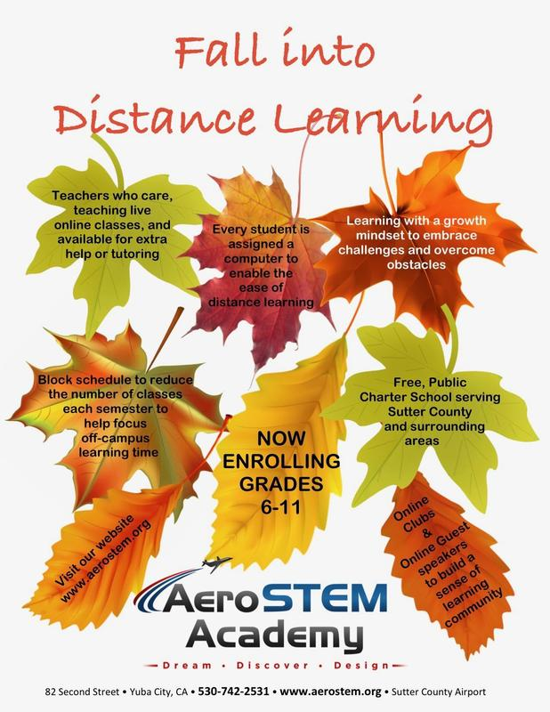 Fall into Distance Learning