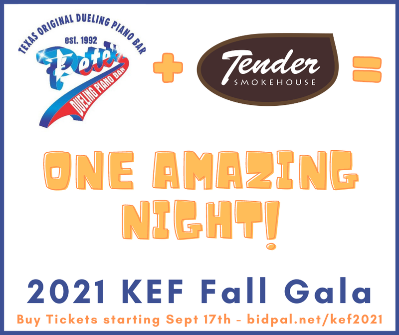 kef gala 2021 ticket promotional graphic