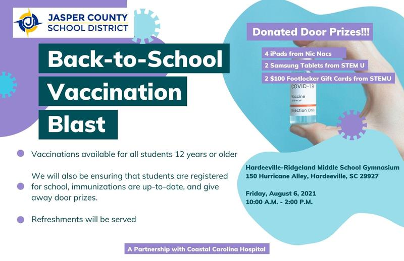 Back to School Vaccination Blast Featured Photo