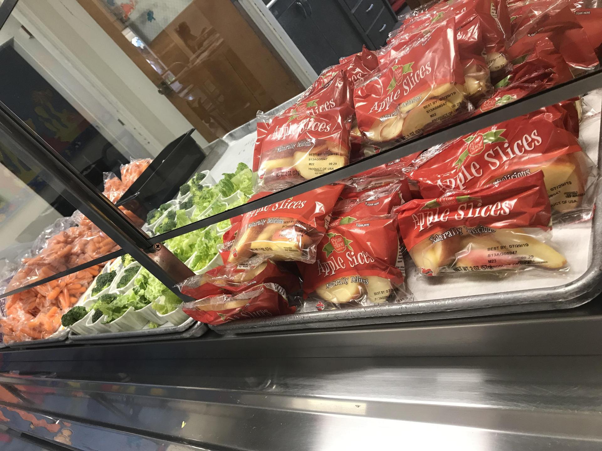 Food Service Line Set-up
