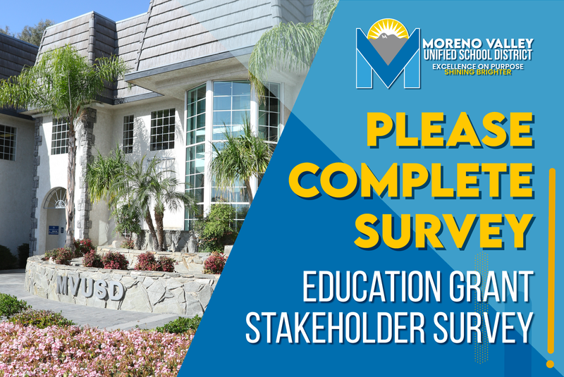 education grant stakeholder survey