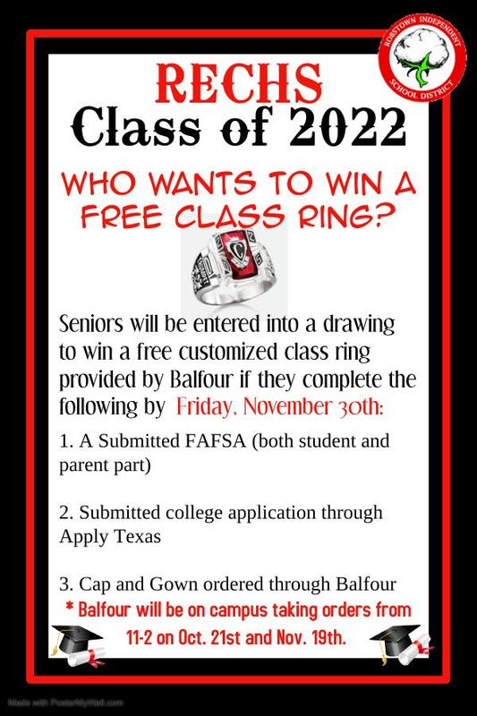 Seniors, Win a FREE class ring! Featured Photo