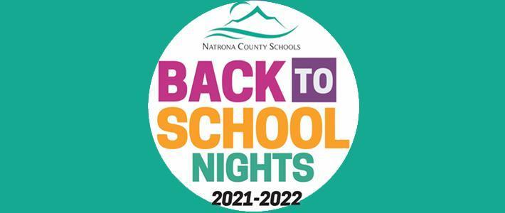 Back to School nights flyer