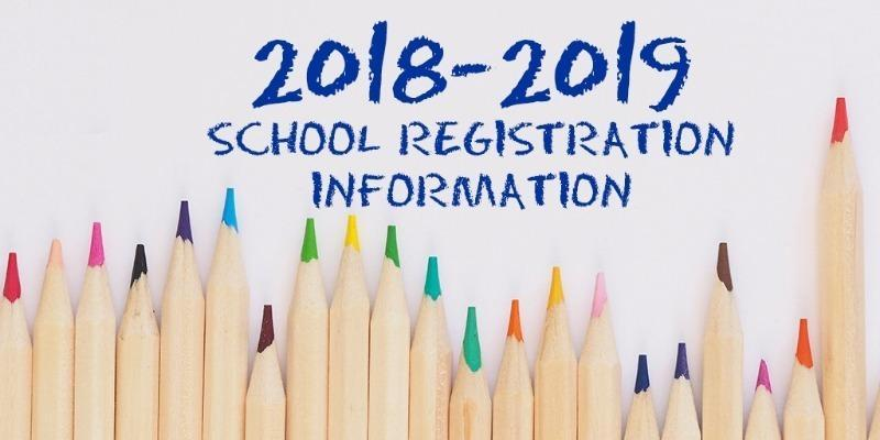 2018-19 School Year Student Registration Thumbnail Image