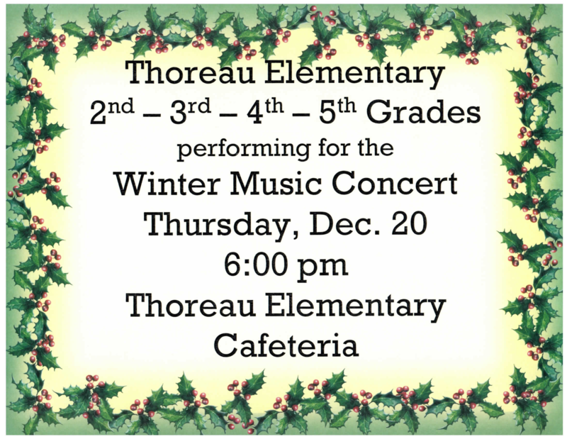 December 20, 2018: Winter Performance @ 6 pm Featured Photo