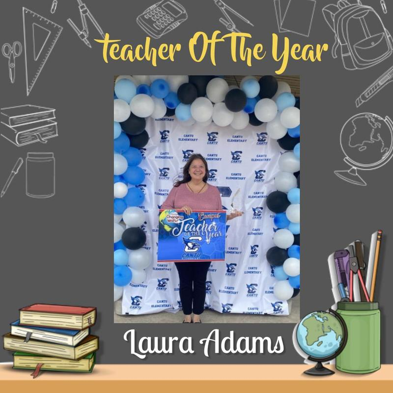 Teacher Of The Year Ms. Laura Adams Featured Photo