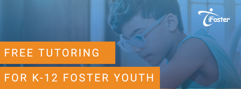 Photo of promotion: Free Tutoring for Foster Youth