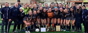 Girls soccer leads the way Thumbnail Image