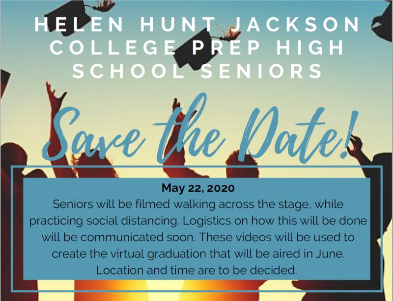 May 22 Senior Announcement