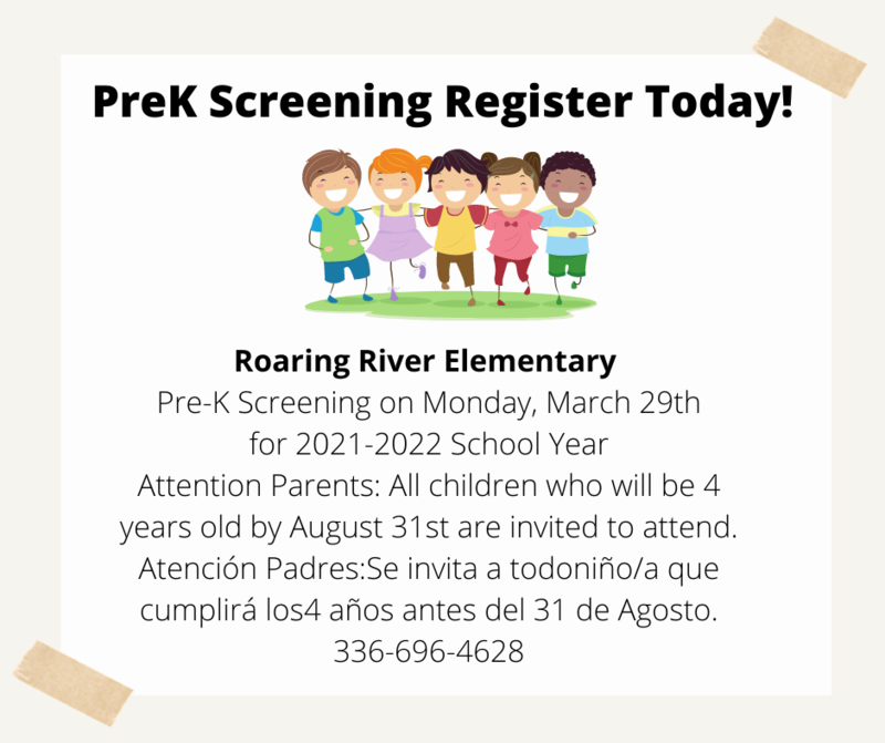 Register for PreK Screening Thumbnail Image