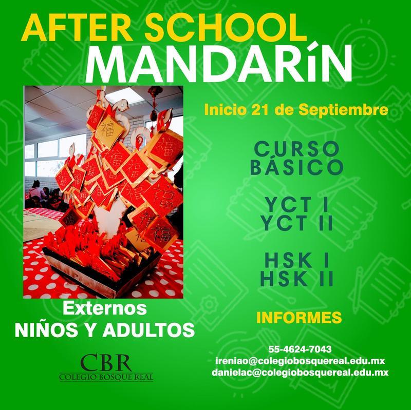 After School Mandarín Featured Photo