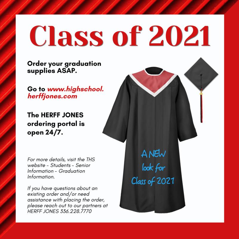 Class of 2021 Graduation Supplies