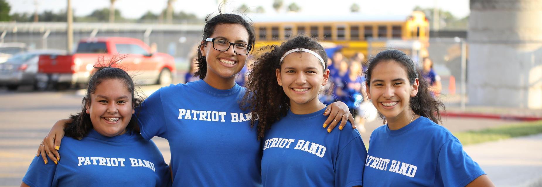 Patriot Ban students
