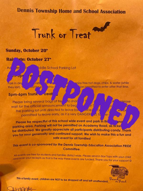 Trunk or Treat *POSTPONED* Thumbnail Image