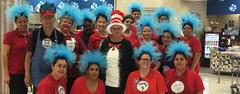 Brewer High School Child Nutrition employees dressed up Dr Seuss characters on Oct. 31.