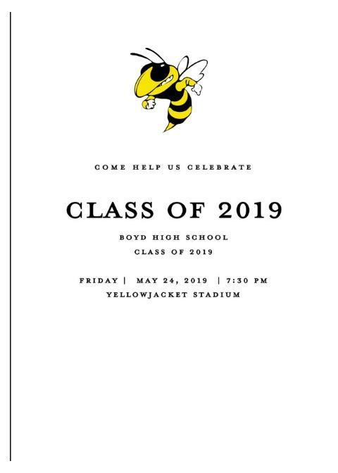 2018-2019 Graduation Thumbnail Image