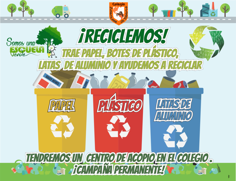 PRIMARIA: ¡Reciclemos! Featured Photo