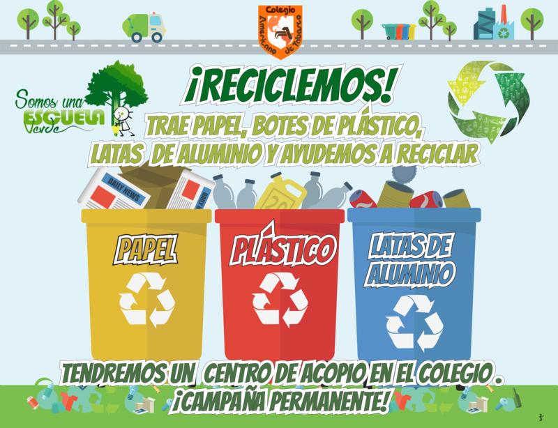 PRIMARIA: ¡Reciclemos! Featured Photo
