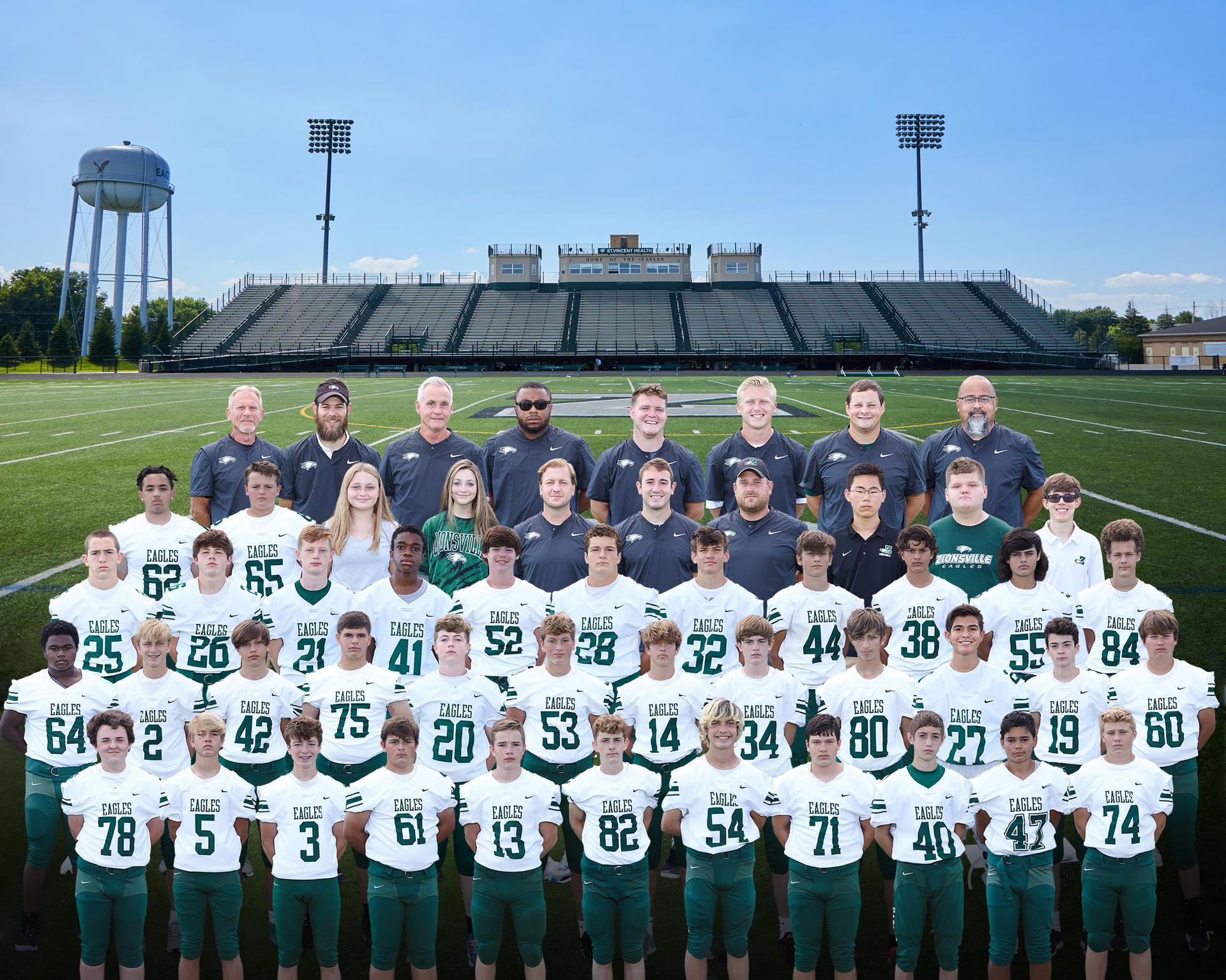 2020 Freshmen Football