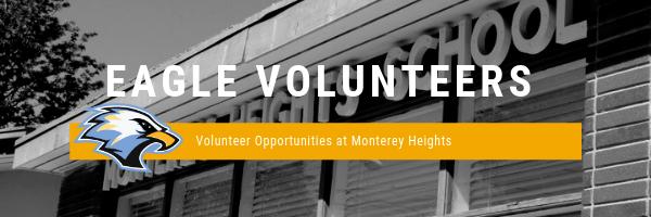 Eagle Volunteers header