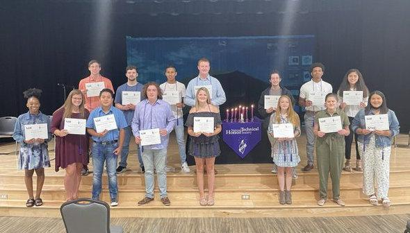 NTHS induction ceremony
