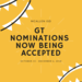 GT Nominations