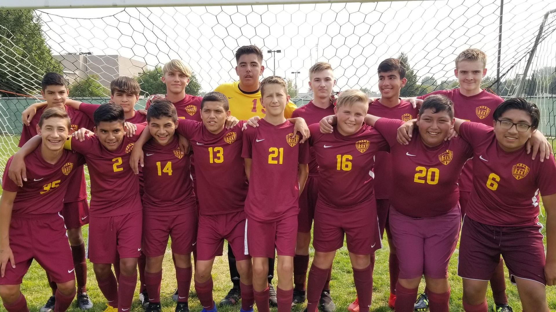 2021-22 JV Soccer Team