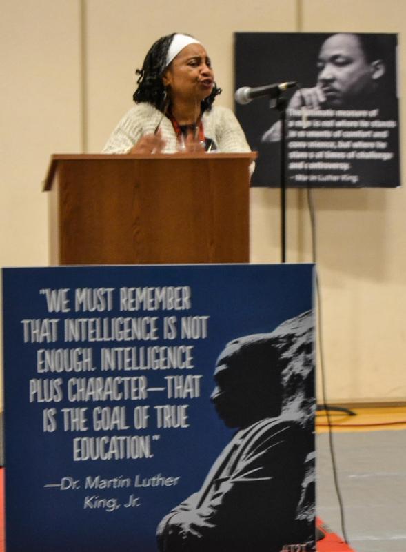 mrs. tina butler speaking