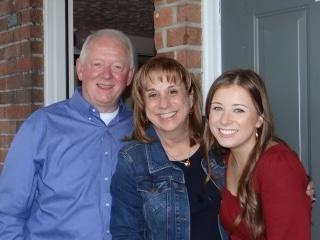 photo of OLSH business manager Cathy Neubert and her family