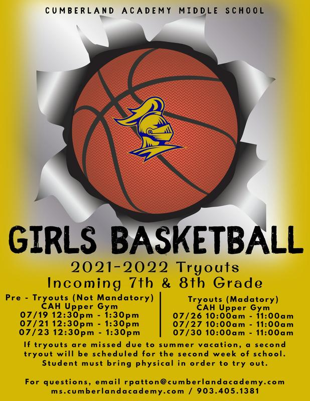 2021-2022 Girls Basketball Tryouts Featured Photo