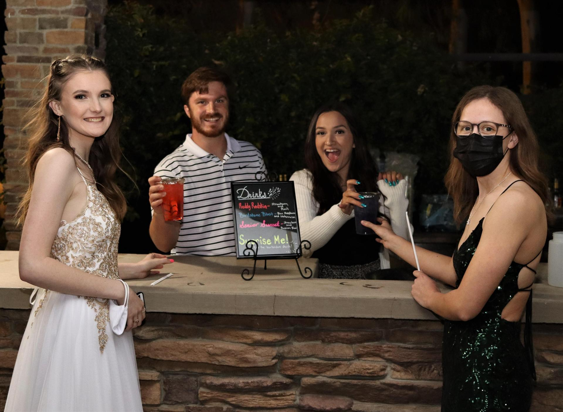 Staff at prom