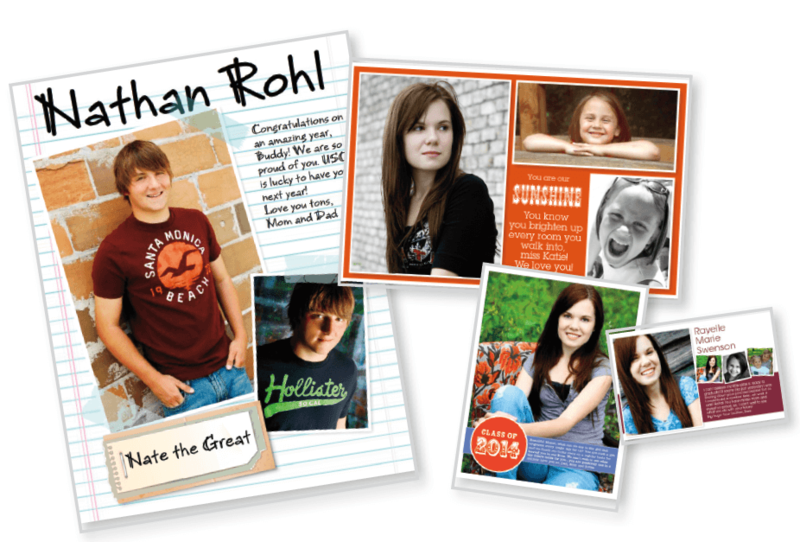 Yearbook Ad example