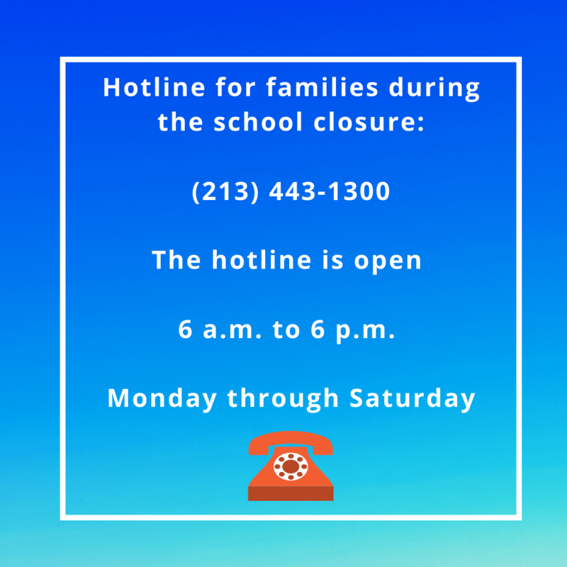 Resource hotline for families! Featured Photo