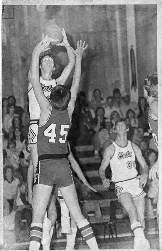 Basketball Madill HS District Champs 1980