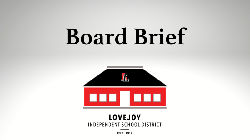 Board Brief: July 19, 2021 Featured Photo