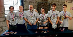 Cougars Win SOT Lifting Classic