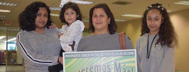 Latino Family embraces We Want More Movement 2019